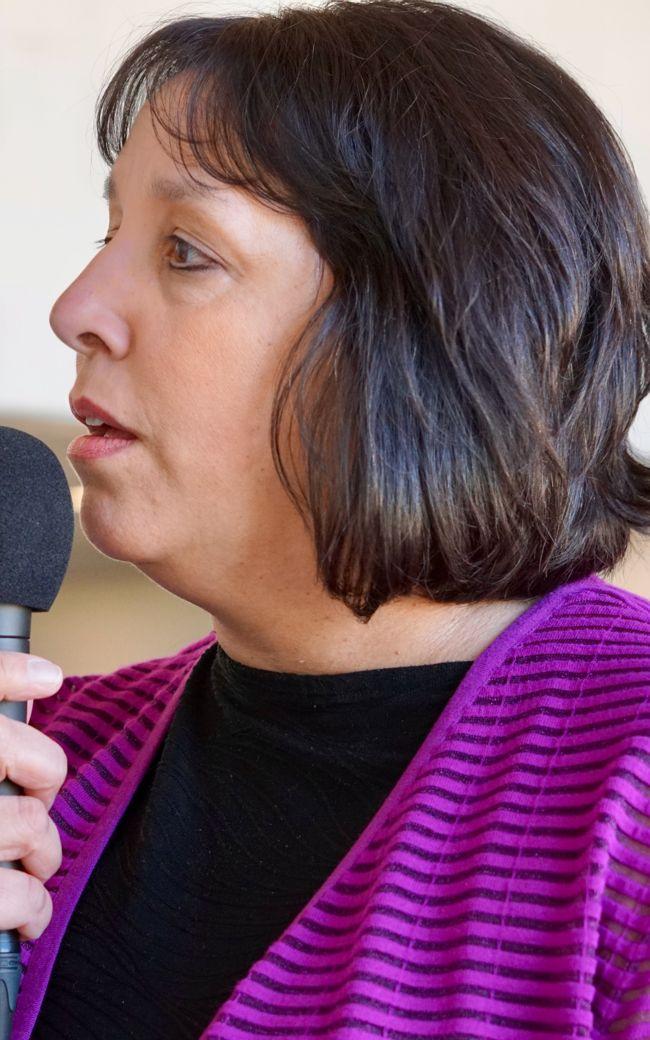 Salem Mayor Kim Driscoll live at Suffolk Downs