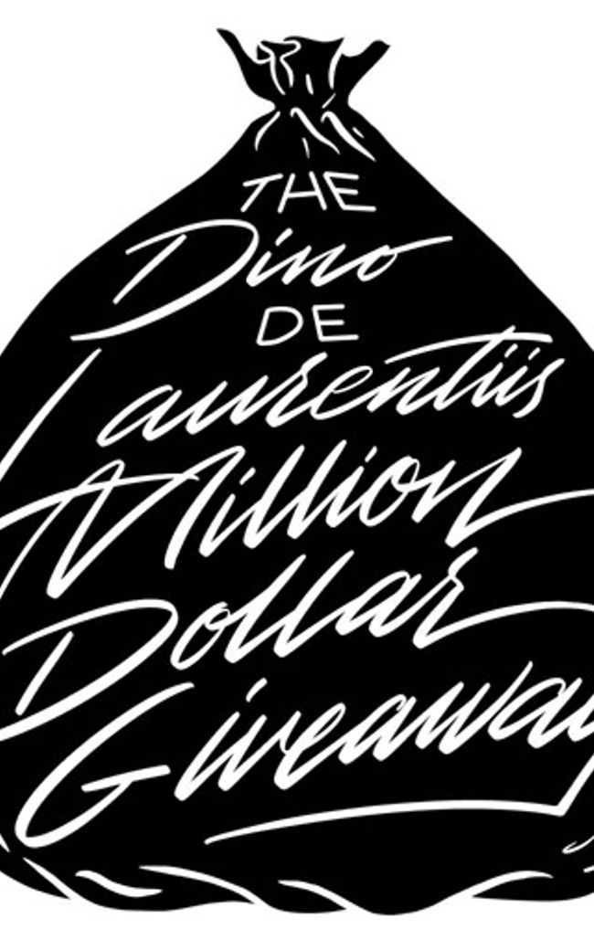 The Dino De Laurentiis Million Dollar Giveaway