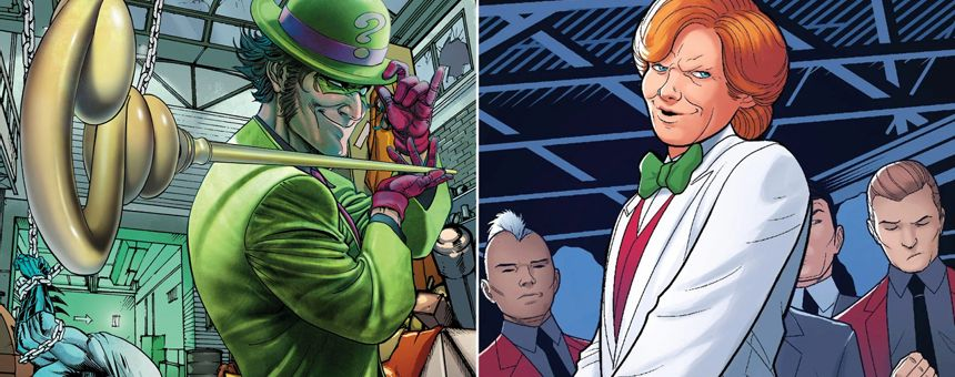 Riddler vs Arcade Episode Transcript