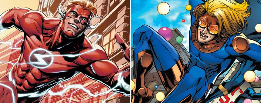 The Flash (Wally West) vs Speedball Episode Transcript