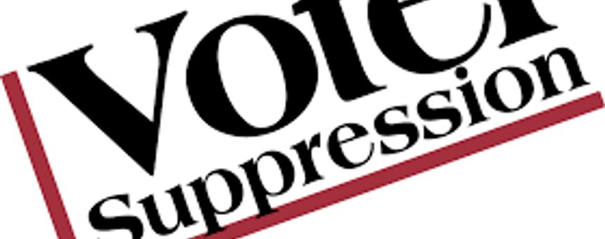 Voter Suppression Word Search Game