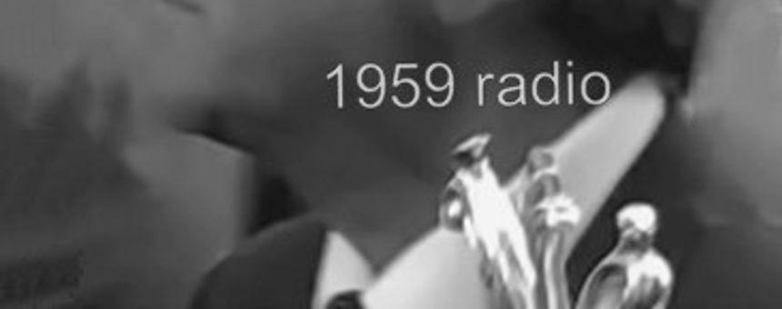 Presentación de 1959 radio audiolibros