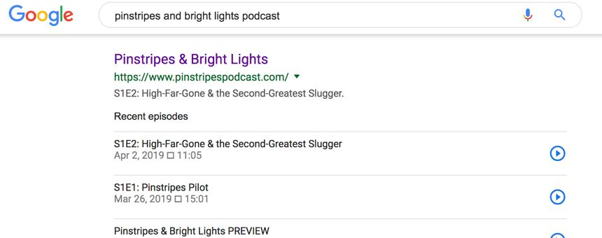 A podcast website is at the heart of your show
