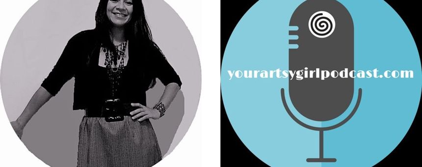 Gain: How Cristina launched and promotes yourartsygirl podcast
