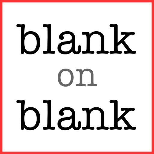 Cover art for podcast Blank on Blank