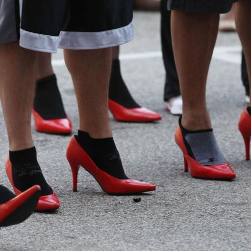 251e62efec2 Jade Harrell w  YWCA Metro STL to Literally Walk A Mile In Her Shoes ...