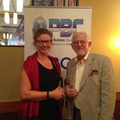 Brigette Houen Tolstrup With Danish American Chamber Of Commerce At