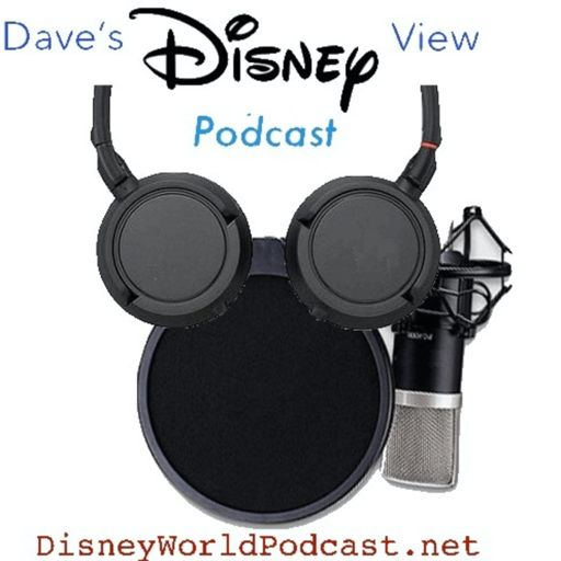 Cover art for podcast Dave's Disney view