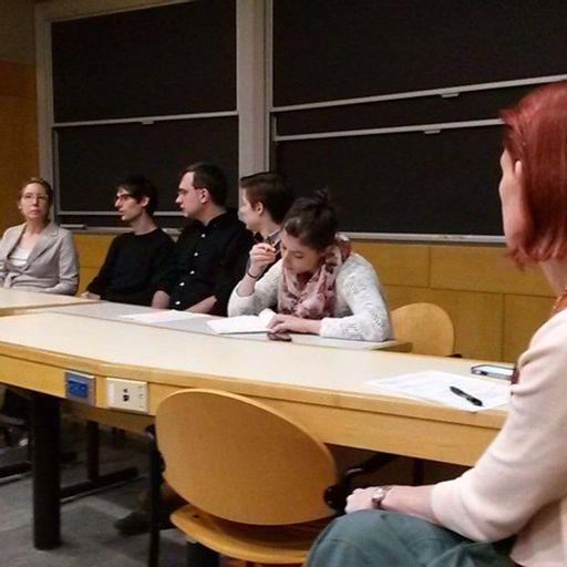 Comparative Media Studies graduate alumni panel, Fall 2015