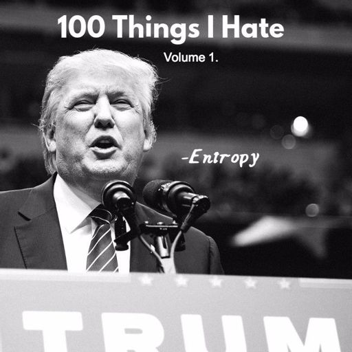 Entropy: 100 Things I Hate, Volume 1  (Acapella Freestyle