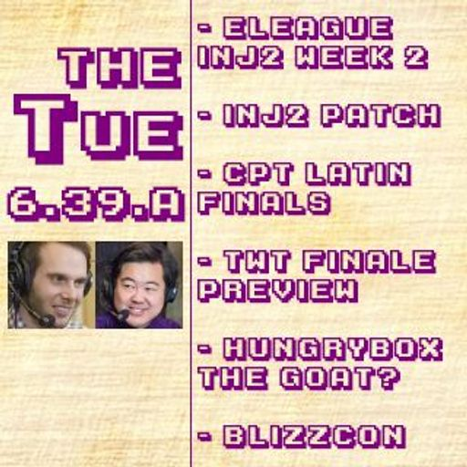 Tuesday 6 39 A: ELEAGUE, Inj2 Patch, CPT Latin Finals, Hungrybox