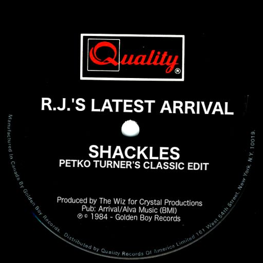 a54f5422386 R.J.'s Latest Arrival - Shackles (Petko Turner's Classic Edit) Electro  Boogie Funk Monster from Sky Wave Radio Hosted By Petko Turner on  RadioPublic