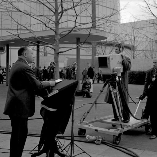 David Sarnoffs NBC TV Introduction At The 1939 Worlds Fair In New