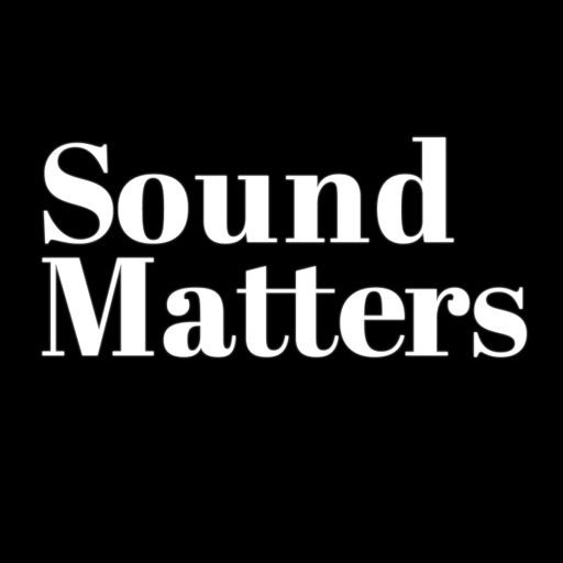 Cover art for podcast Sound Matters