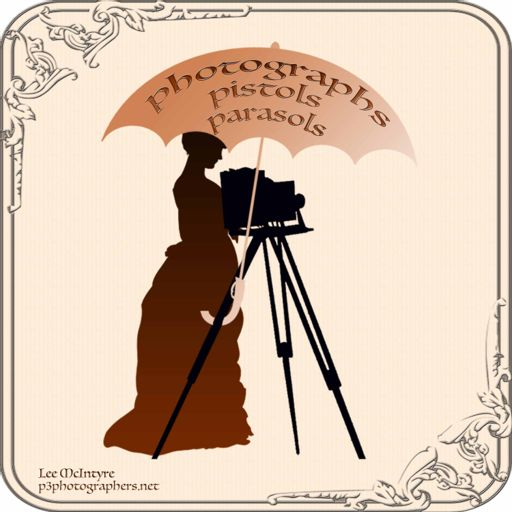 Cover art for podcast Photographs, Pistols & Parasols