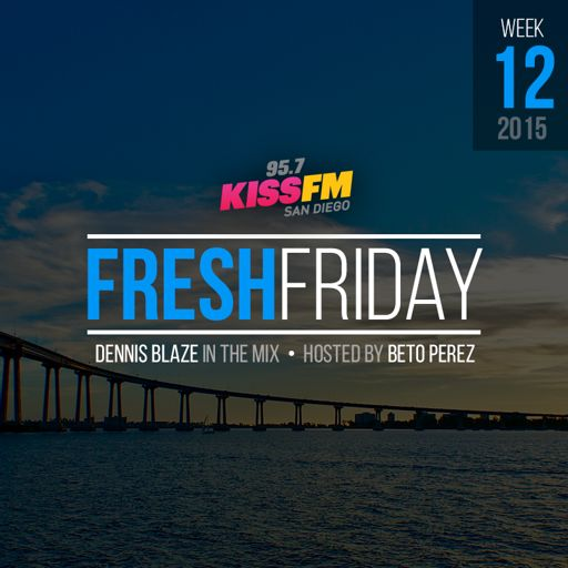 FFS Week 12 w Dennis Blaze + Beto Perez of 95.7 KISS FM San Diego (March  2015 Hip-Hop 85b107078e