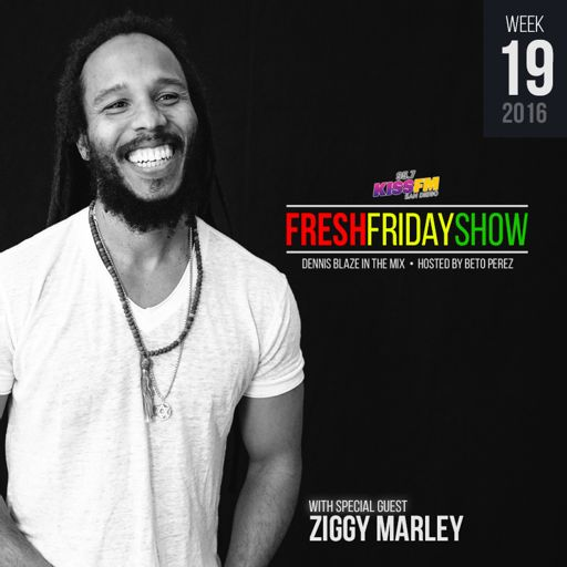 2096479b FFS Week 19 w Ziggy Marley + Dennis Blaze + Beto Perez of 95.7 KISS ...