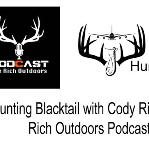 511d06c90db102 ... Hunting Blacktail with Cody Rich of the Rich Outdoors Podcast from  HuntFishTravel Podcast with CarrieZ, a Hunting, Fishing, Archery, Bowhunting  Podcast.