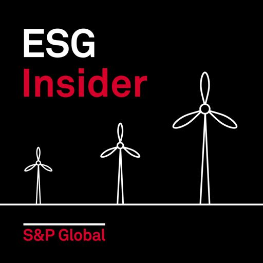 Cover art for podcast ESG Insider: A podcast from S&P Global