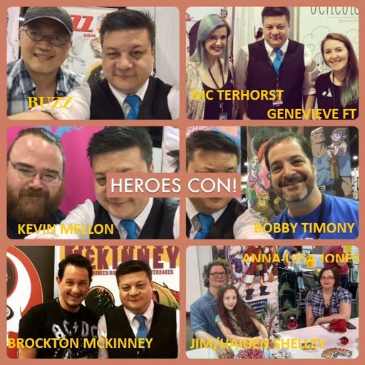 Episode 697 Even More Heroes Con Interview Special W Bobby