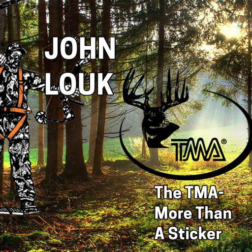 220 JOHN LOUK - The TMA, More Than a Sticker - Tree Stand