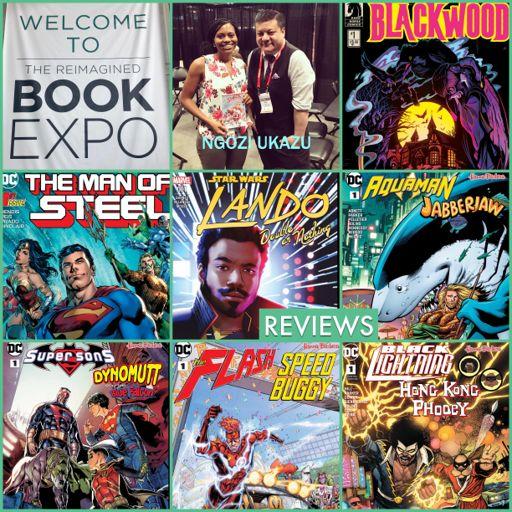 Episode 855 - Book Expo America w/ Ngozi Ukazu! from Comic News