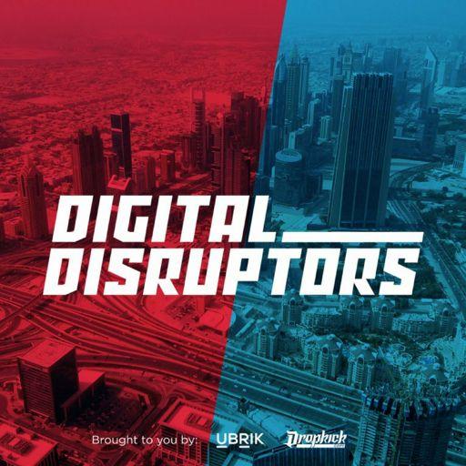 Cover art for podcast Digital Disruptors