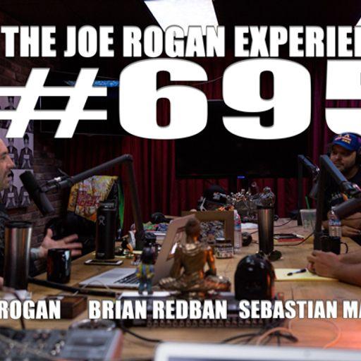 695 - Sebastian Maniscalco from The Joe Rogan Experience on