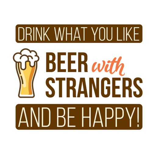 Cover art for podcast Beer with Strangers