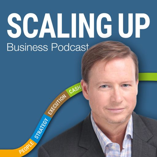 Cover art for podcast Scaling Up Business Podcast