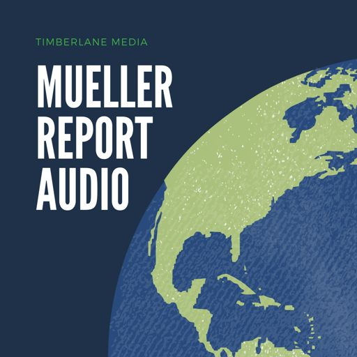 Cover art for podcast Mueller Report Audio