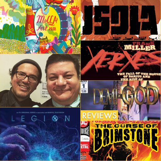 Episode 839 - MoCCA Mirth w/ John Leguizamo! from Comic News Insider