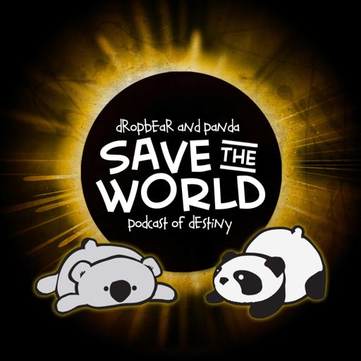 Cover art for podcast Dropbear and Panda Save the World