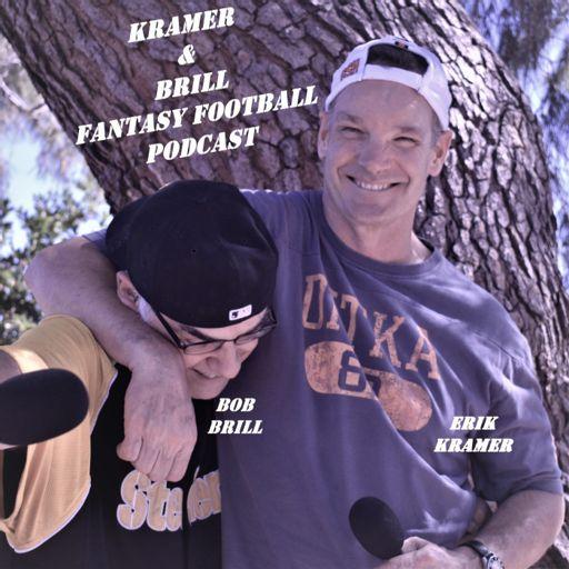Cover art for podcast Kramer and Brill Fantasy Football Podcast