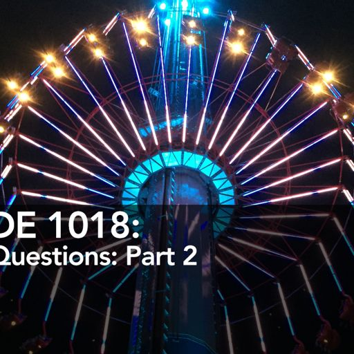 CoasterRadio com #1018 - Listener Questions: Part II from