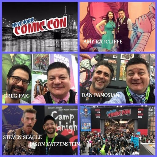 Episode 892 - New York Comic Con Recap w/ Greg Pak/Amy