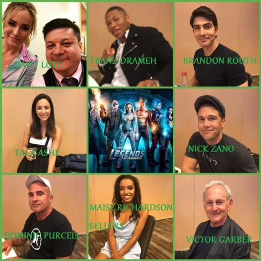 06c88906 Episode 791 - SDCC: Legends of Tomorrow w/ Victor Garber/Caity Lotz/Dominic  Purcell/Nick Zano/Maisie Richardson-Sellers/Brandon Routh/Tala Ashe/Franz  ...