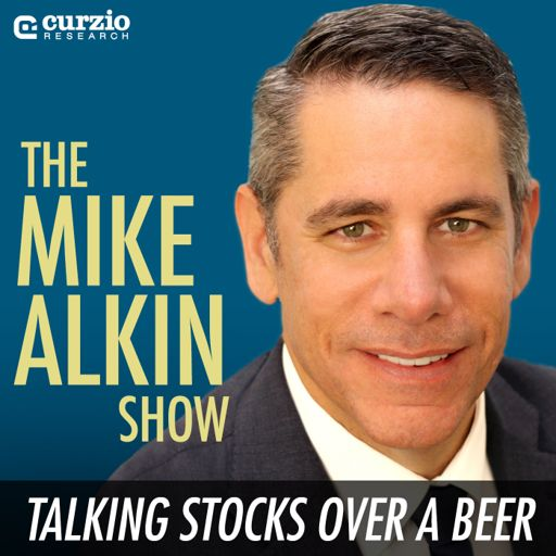 Cover art for podcast The Mike Alkin Show: Talking Stocks Over a Beer