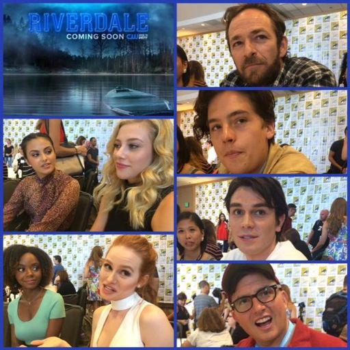 Episode 712 Sdcc Riverdale W Luke Perrymadelaine Petsch