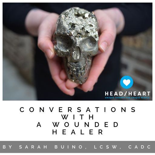 Cover art for podcast Conversations with a Wounded Healer