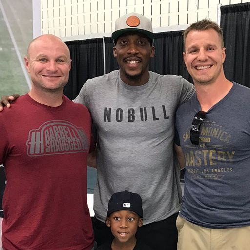 d63322fa257 Lessons Training with Rich Froning w/ EZ Muhammad — Barbell Shrugged from  Shrugged Collective on RadioPublic