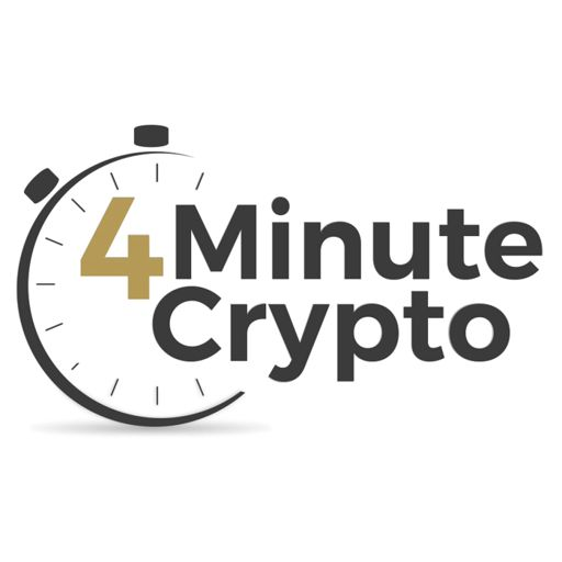Cover art for podcast 4 Minute Crypto And Bitcoin Daily News