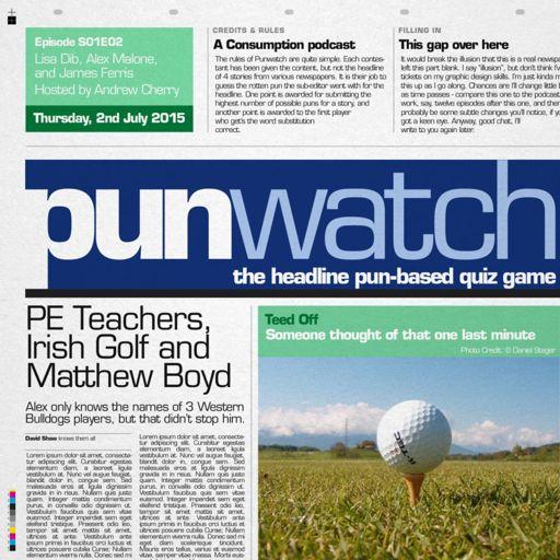 102 pe teachers irish golf and matthew boyd from pun watch the