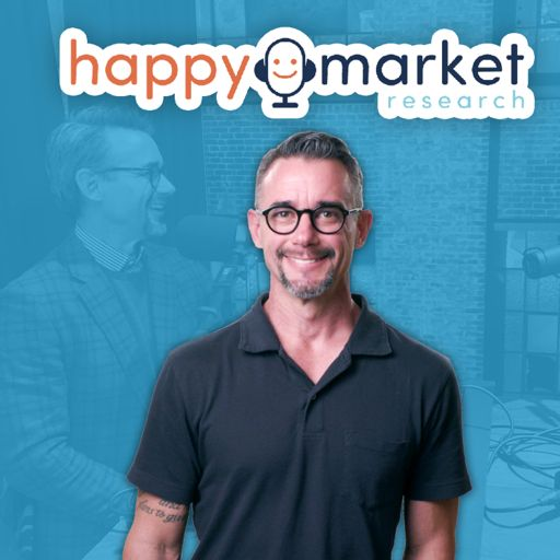 Cover art for podcast Happy Market Research Podcast
