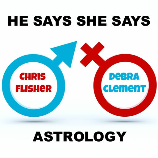 Cover art for podcast He Says She Says Astrology Podcast