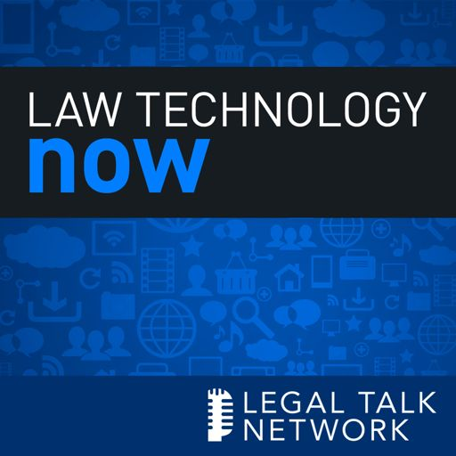 Cover art for podcast Law Technology Now