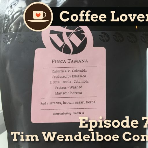 CLR-E72: Tim Wendelboe Comes to Town from Coffee Lovers