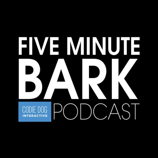 Cover art for podcast FIVE Minute Bark Podcast