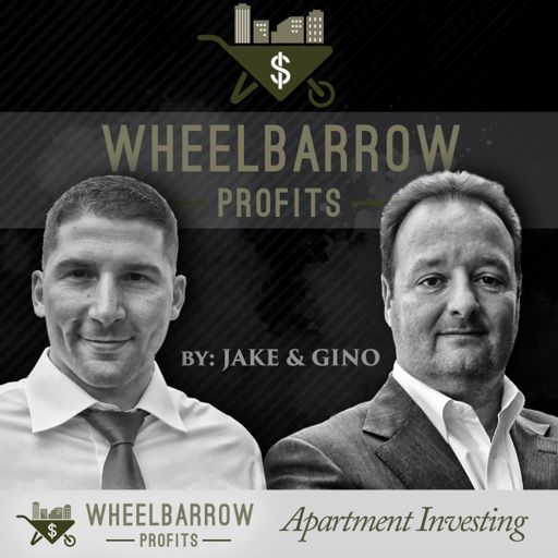 Cover art for podcast Jake and Gino: Multifamily Real Estate Investing & More