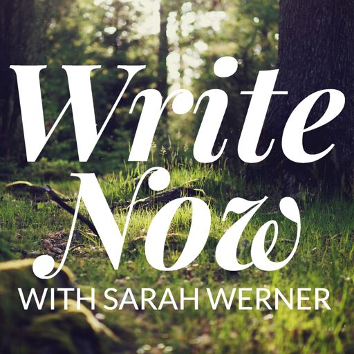 Cover art for podcast Write Now with Sarah Werner